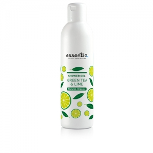 Shower Gel - Green Tea and Lime - Essentiq