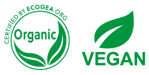 Certified Organic + Vegan friendly